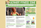 Thumbnail Fitness & Health Niche Wordpress Blog + Fitness eBook
